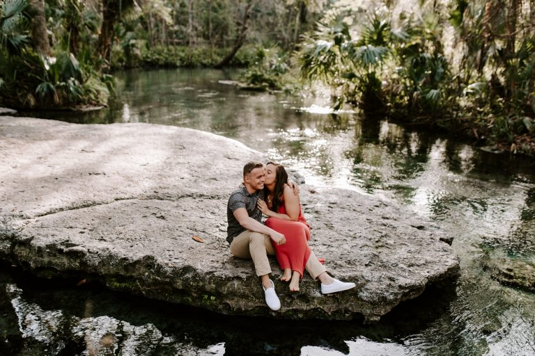 rock springs proposal | Orlando engagement | Jessica Jones Photography | Orlando Proposal | Destination Wedding Photographer